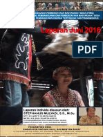 Monthly Individual Report - P3MD - Stephanus Mulyadi - TA PSD Kapuas Hulu-Juni 2016.pdf