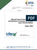 Manual de Inscripcion Universidad Saber Pro v2
