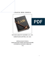 Pengantar Hukum Indonesia Unmus