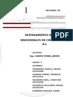DESFASA,MIENTOCircuitos RC - RL