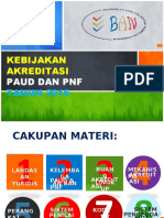 Kebijakan Akreditasi PAUD dan PNF Tahun 2016.pptx