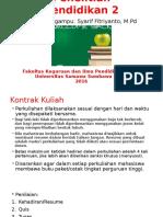 Pengantar Penelitian Pendidikan 2