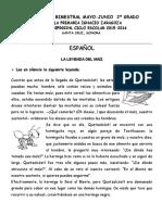 2do Grado - Bloque 5 Español, Mate, Exp, Civica