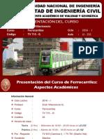 Ferrocarriles - Erich Villavicencio G. v2.0