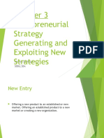 Entrepreneurial strategic policy