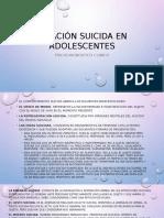 Ideación Suicida en Adolescentes