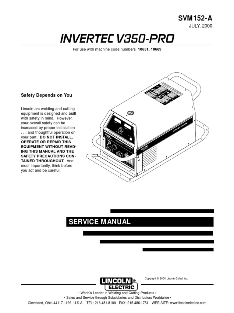 Ex350i Service Manualpdf Welding Power Inverter How To Read A Diagram