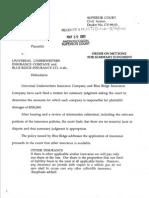 Bergeron v. Universal Underwriters Ins. Co., ANDcv-99-51 (Androscoggin Super. Ct., 2001)