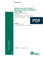 SL01 NSG DEV RPT 7020 001 Rev 1 Golder Resource Report