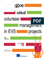 EVSification Manual - Volunteer Management in EVS Projects