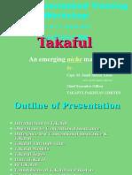 Alhuda CIBE - Takaful an Emerging Market by Capt. M. Jamil Akhtar