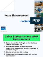 Lecture 9- Work Measurement