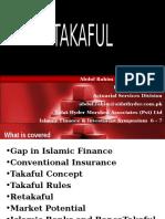 Alhuda CIBE - Presentation on Takaful by Abdul Rahim