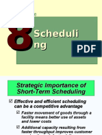 Lecture 8 Scheduling