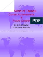 Alhuda CIBE - The World of Takaful by Dr. S. J Malaikah