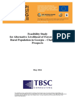 Feasibility Study for Alternative Livelihood of Forest-Depending Rural Population in Georgia – Challenges and Prospects