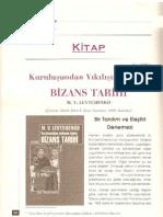 M.V.Levtchenko'nun Bizans Tarihi - Bir Tanıtım ve Eleştiri Denemesi