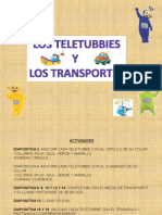 CUENTO TELETUBBIES TRANSPORTES MANIPULABLE.ppt