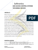 Context-based Access Control Systems for Mobile Devices