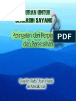 Nasehat Indah Syaikh Rabi'