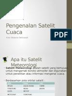 Modul 1 Satelit Meteorologi Dan Perkembangan Tekhnologi Satelit Cuaca