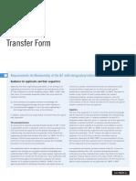 IET Member Transfer Form