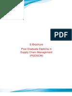Prospectus PGDSCM