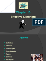 Chapter 10 Effective Listening