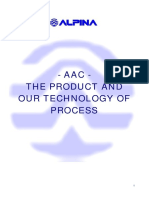 Aac -The Product and Our Technology of Process