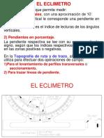 Eclimetro y Secciones Transv