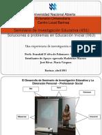 Seminario de Investigación Educativa (451)