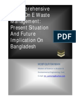 A Comprehensive Study On E Waste Management