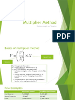 Multiplier Method-2015.pptx