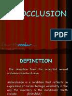 Malocclusion Ortho