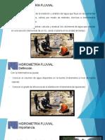 Diapositiva de Hidrometría Fluvial