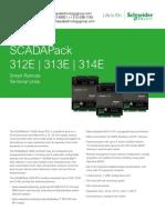 SCADAPack 312E 313E 314E E Series Datasheet