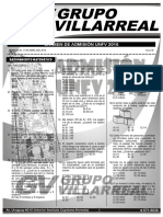 Solucionario Examen Admision 2016 Villarreal I