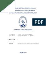 monografia administracipón financiera