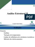 Análise Estrutural II
