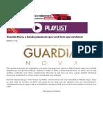 Guardia Nova, a banda piauiense que você tem que conhecer - Play List - Rayldo Pereira - CidadeVerde