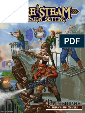 Pure Steam Campaign Setting | Elf (Dungeons & Dragons