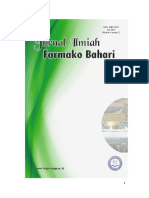 Jurnal Farmako Bahari Vol. 4 No. 2 Juli 2013