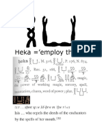 Heka, An Introduction to Ancient Egyptian Magick