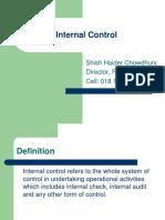Internal Control Concept