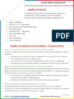 Andhra Pradesh Current Affairs 2016 (Jan-July) by AffairsCloud