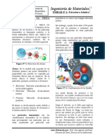 Materiales - Unidad_1 Estructura Atómica
