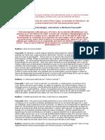 Foucault - Filosofia y Psicologia ( Entrevista
