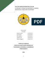 makalah interaksi farmakodinamik antagonis