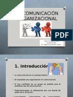 Comunicacion orgnizacional