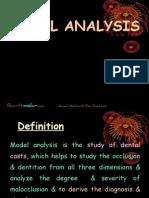 Model Analysis Ortho
